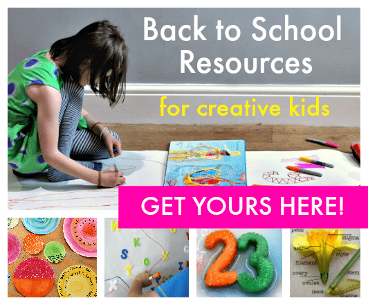 back to school resources for creative kids