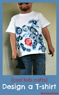 kids-crafts-design-a-t-shirt
