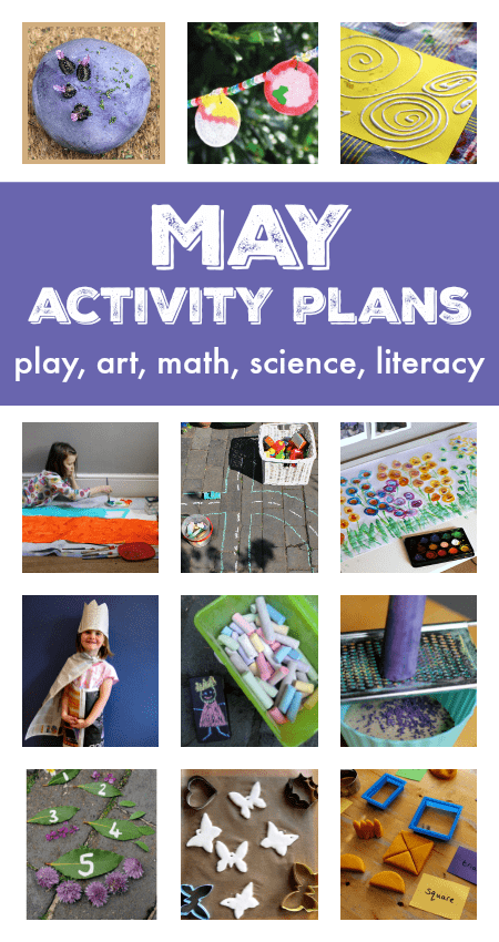 Things to do in April with your kids, activity plans for April, spring lesson plans, spring crafts,