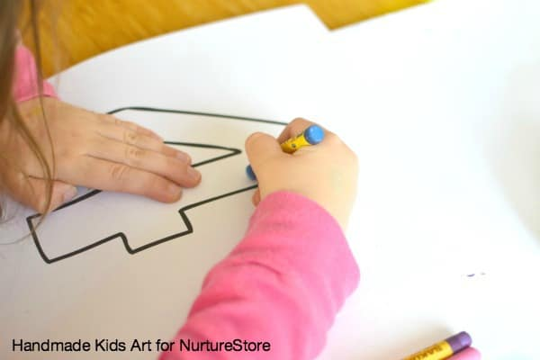 number recognition art activity