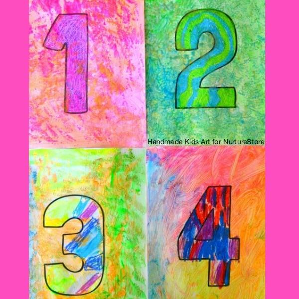 Jasper Johns project for kid