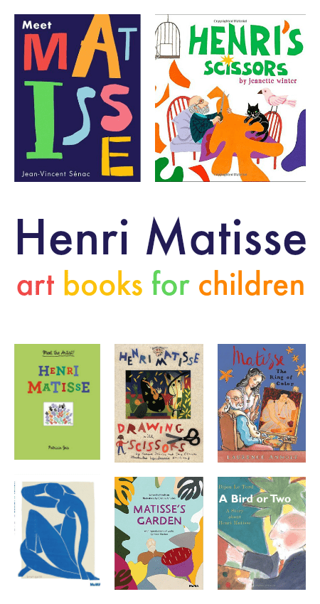 Henri Matisse art books for children :: famous artists art projects for children