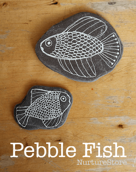 pebble fish craft