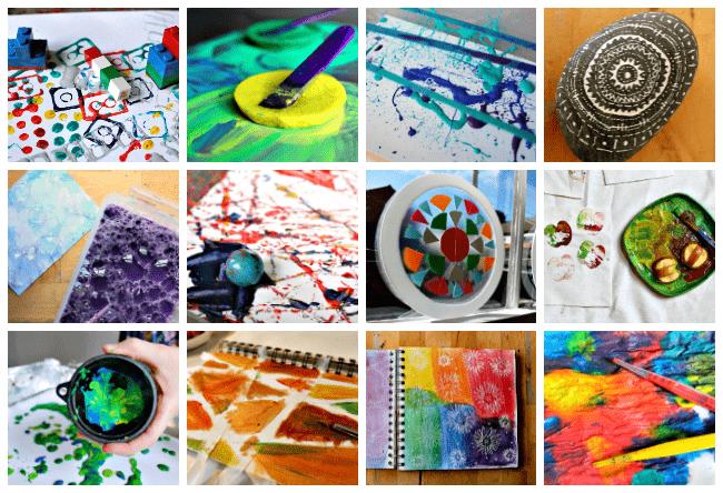 art spark collage