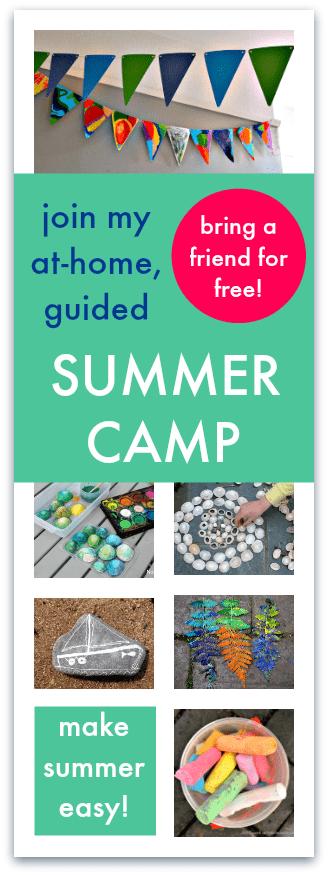art summer camp ideas