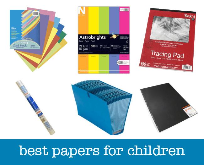 best art paper for children