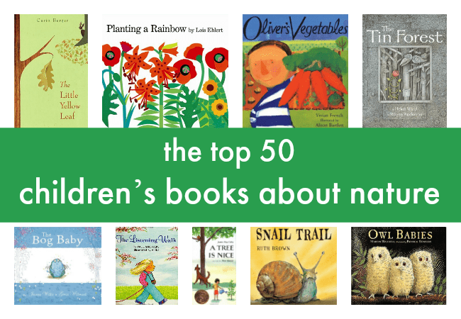 best children's books about nature