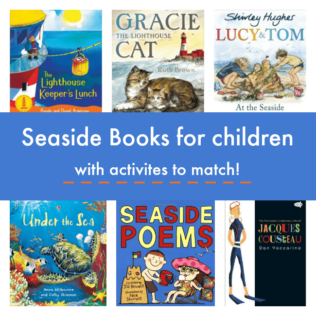 books about the see for children