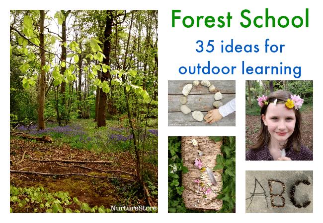 Forest School Activities For Outdoor Classrooms