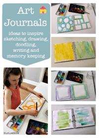 ideas-for-art-journaling