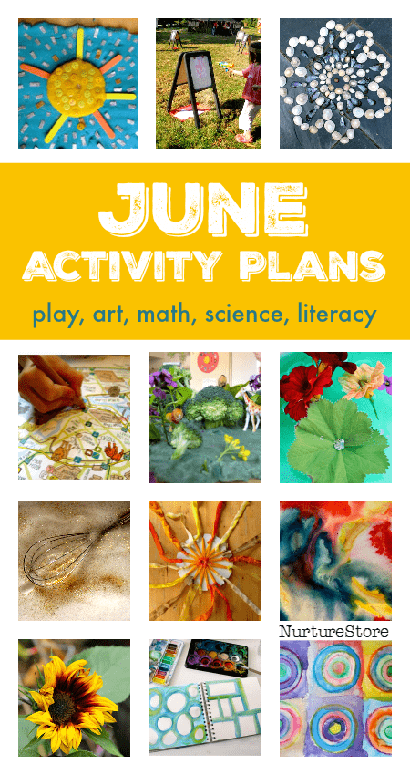 June activity plans :: summer bucket list ideas :: things to do with kids in June :: seasonal activity calendar :: summer screen free play ideas