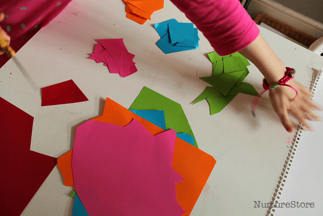 matisse cutouts project for kids