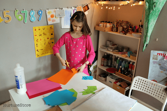 matisse smail art project for kids