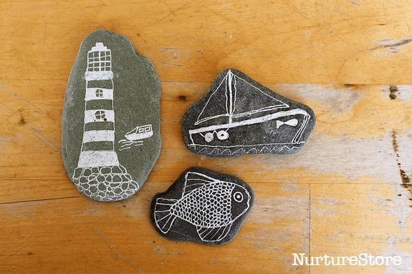 seaside story stones