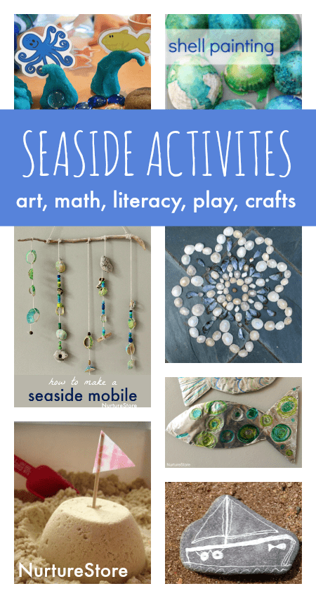 Seaside Crafts And Beach Activities For Kids Nurturestore