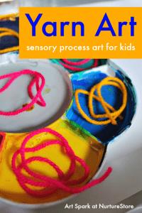 sensory-process-art-for-kids-yarn-art
