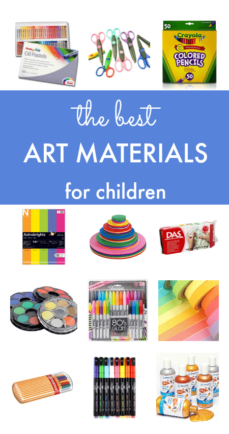 How to set up a kids art space and the best art materials for children