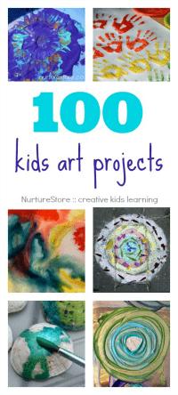 100-kids-art-projects