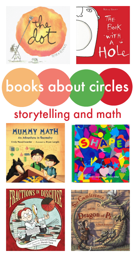 STEAM resources: combine stories and math with these great children's books about circles