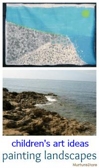kids-art-painting-landscapes