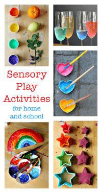 sensory play activities for school