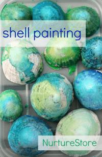 shell-painting-sea-art-kids-beach-