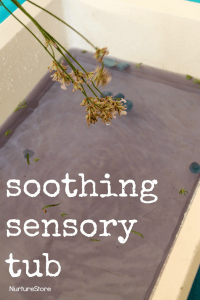 soothing-sensory-tub-with-lavender