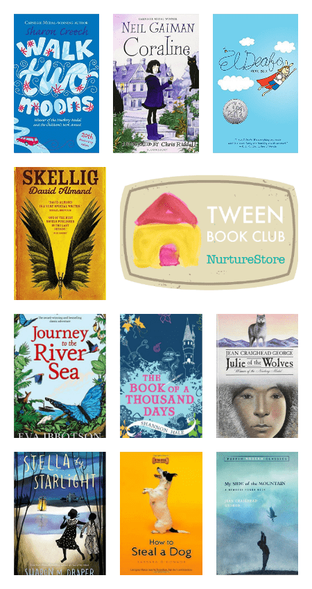 How to start a children's book club and a great tween reading list of great books for a children's book club