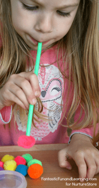 pin-straws-and-pom-poms-math-counting-game-for-preschoolers