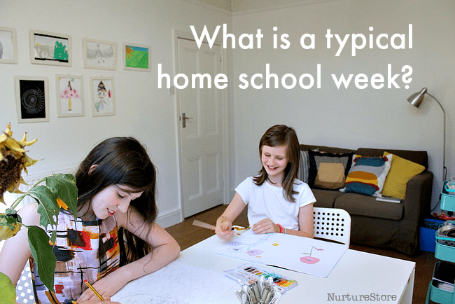 What is a typical home school week like? Weekly home education routines