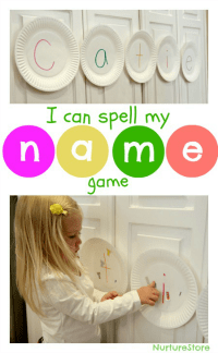 paper-plate-name-game