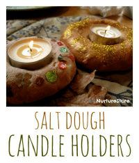 salt-dough-candle-holders