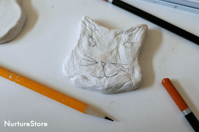 clay-cat-craft-for-children