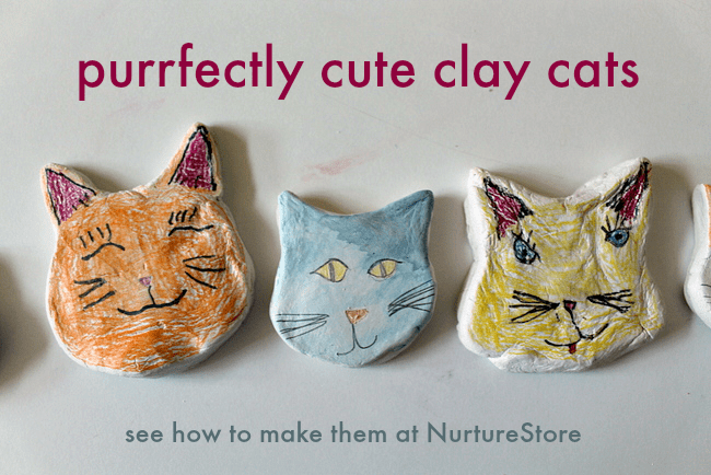cute-clay-cat-craft