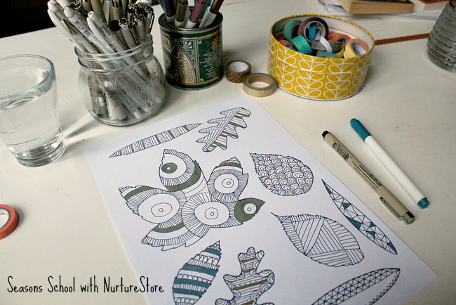 free-printable-leaf-zentangle-page
