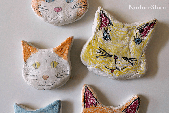 simple-clay-craft-for-kids-cats