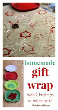 homemade-gift-wrap