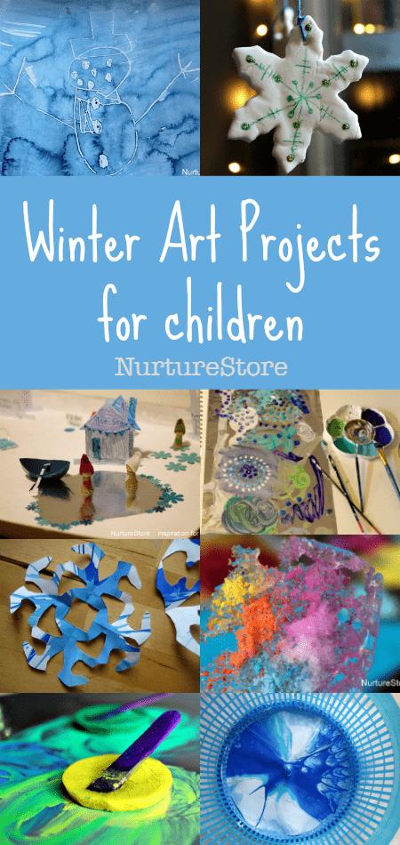 10 Creative Ideas For Winter Art Projects For Children Nurturestore
