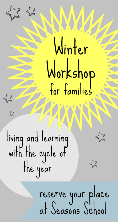 Winter activities for children, winter solstice activities, winter unit, winter theme lesson plans