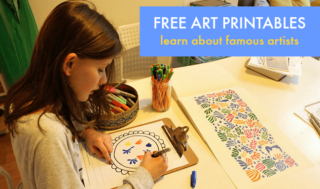 famous-artist-printables-for-children
