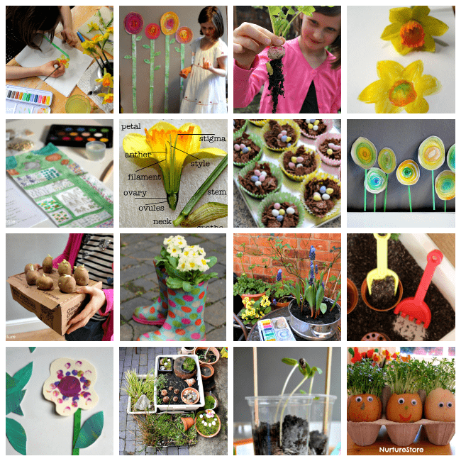 spring activities for homeschool and school