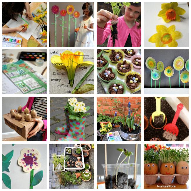 spring activities for homeschool and school