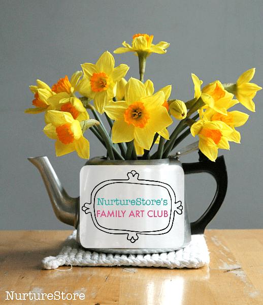 daffodil art for children