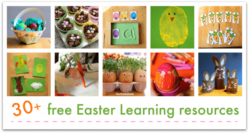 easter learning activities and crafts