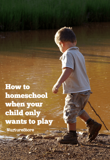 Homeschool tips: how to homeschool when your child only wants to play - homeschool resources - home educationresources