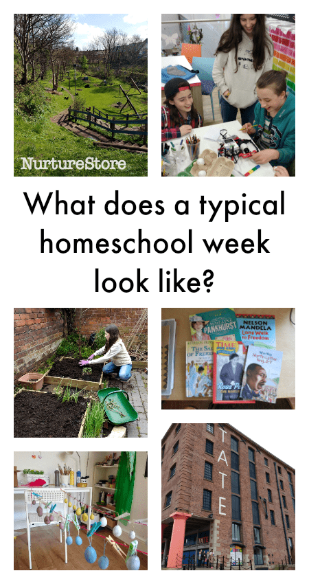 What does a typical homeschool week look like? Home education typical week.