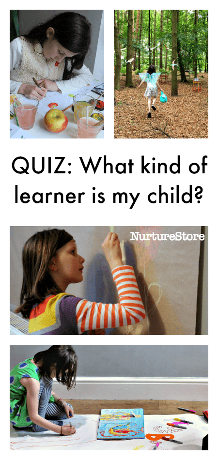 Quiz: what kind of learner is my child - learning styles