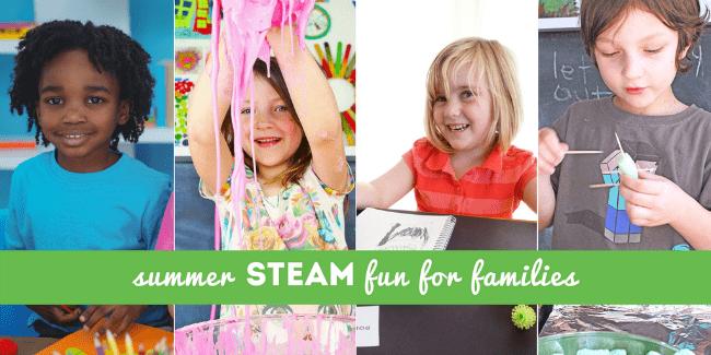 summer steam camp for children