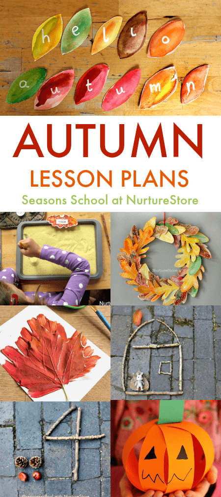 Seasons School autumn workshops: autumn lesson plans for creative kids