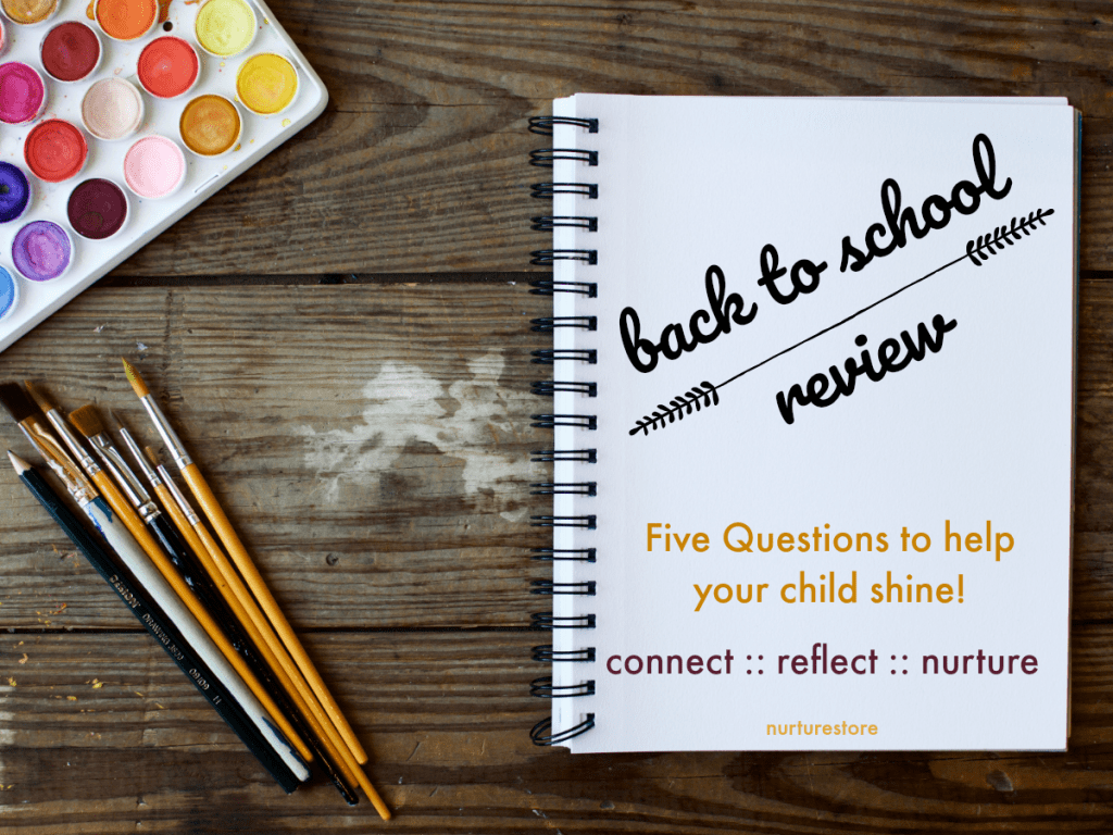 How to do a back to school review ideas, homeschool planning review tips, back to school interview